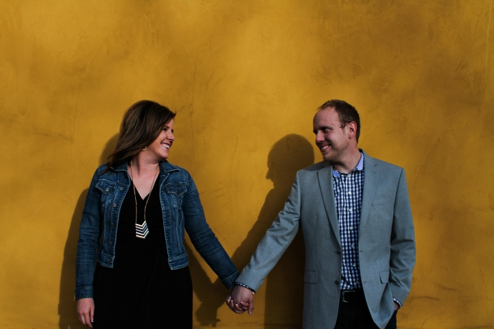 Elisabeth + Josh's Urban Littleton Engagement Session