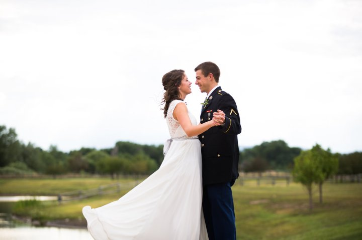 Military Wedding in Northern Colorado