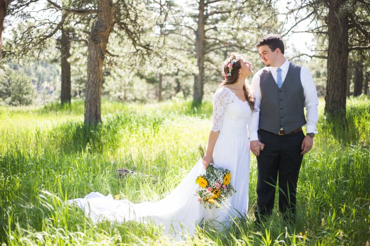 Leandra + Ethan | Charming Wildflower Wedding