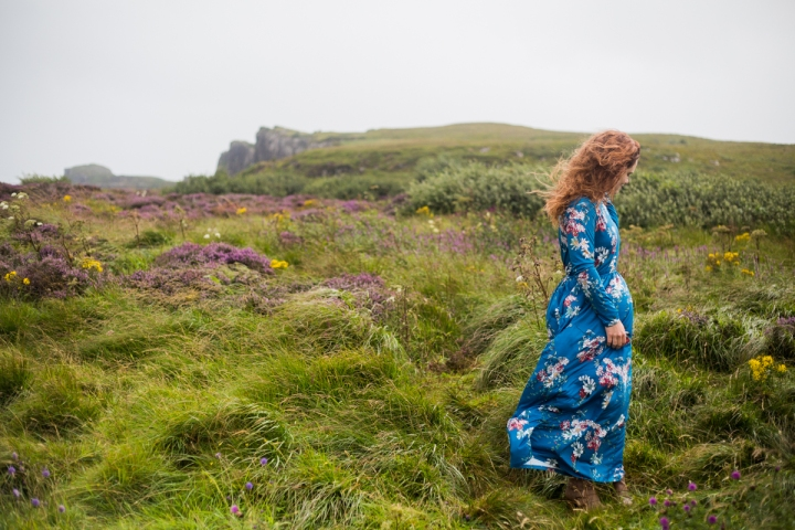 Rebecca's Isle of Skye Scotland Portrait Session