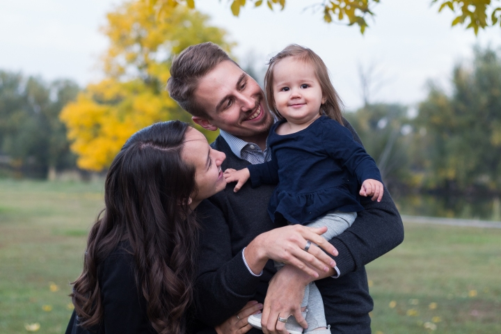 Fall Family Session at The StoneHouse