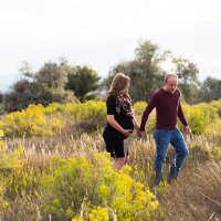 Josh + Elisabeth's Mountain View Maternity Session