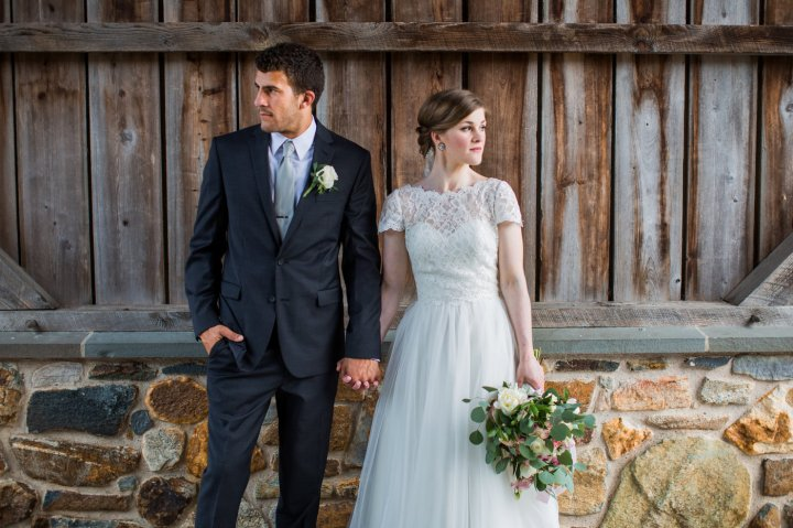Classy Farmhouse Wedding in Elverson, Pennsylvania
