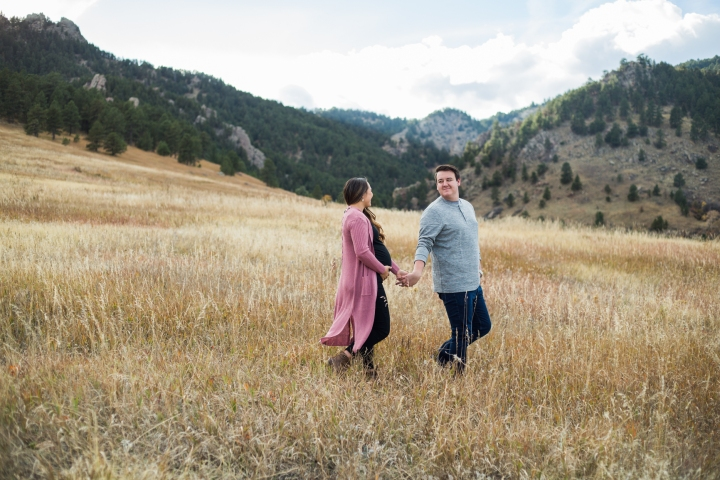 Ashtyn + Kenneth | Chautauqua Park Maternity Session