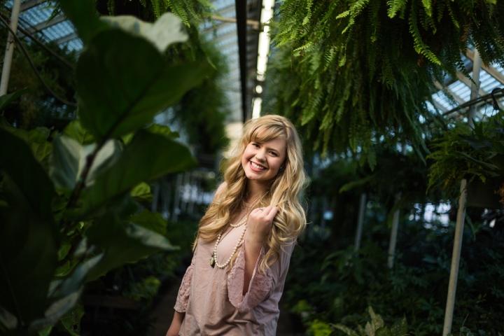 Katherine | Greenhouse PortraitSession