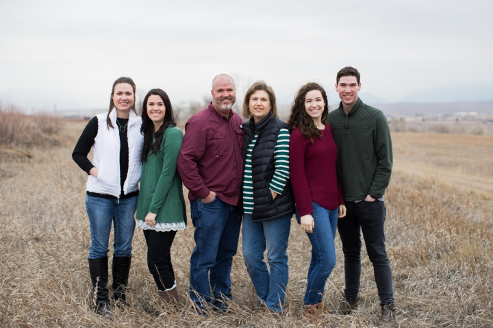The Tanners | Stanley Lake Family Session