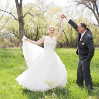 Bear Creek Anniversary Session | Melody + Steve