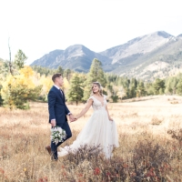 Intimate Colorado Mountain Elopement | Bri + Corey