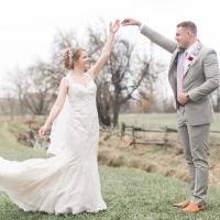 Northern Colorado Hillside Vineyard Wedding | Naomi + Cameron