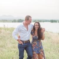 Lakeside Engagement | Sara + Josh